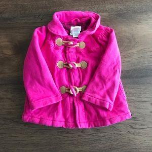 Gymboree 12-24 mos hot pink pea coat